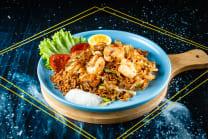 Pad Thai vegetables/chicken/pork/beef/seafood/shrimp/squid