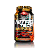Nitro Tech 100% Whey Gold Double Rich Chocolate 2.2 lb