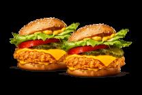 Crispy Chicken Cheese X-treme +  Crispy Chicken Cheese X-treme