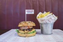 Key West Salmon Burger