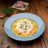 CLC Spaghetti panna e prosciutto - sin gluten