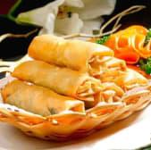 Rouleaux de Printemps aux légumes & Crevettes