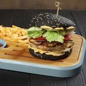 Блек бургер з куркою (400г)