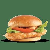 გრილზე შემწვარი ქათმის ბურგერი/Grill Chicken Burger