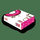 4ც  დონატის ყუთი / Box for 4 Donuts