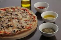 პიცა შამპინიონებით  (27 სმ)