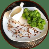 Броколі з сирним соусом (250г)