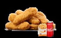 6 ცალი ქათმის ჩხირების მენიუ/6 Pieces Chicken Tenders Menu