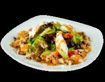 Теплий тропічний салат з мідіями і авокадо (275г)