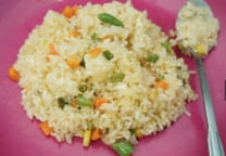 Fried Rice with soup