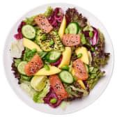 Салат з лососем та авокадо (361г)