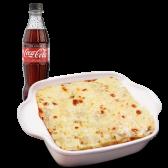 Dúo lasagna a lo Alfredo