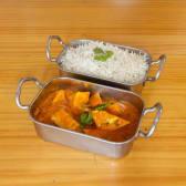 Curry de Tofu (Vegano)