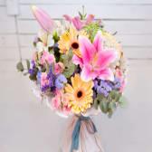 Ramo de Flor Variada Colores Pastel