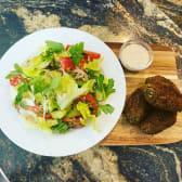 Falafel With Georgian Salad
