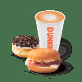 Brunch  Combo Gourmet Dunkin Sándwich Café