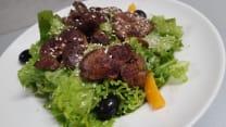 თბილი ღვიძლის სალათი