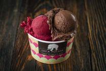 ნაყინი ხილით (2 ბურთულა)/Ice-Cream with fruits (2 scoop)