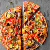 Pizza of Vegetables