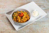 Curry tuna pasta