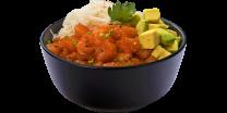 Боул-поке з лососем та авокадо (1шт/293г)