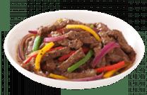 235. Teppanyaki gyuniku en pimienta negra