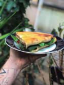 Burgerpuri with Cheese