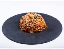 Рис з овочами і куркою (230г)