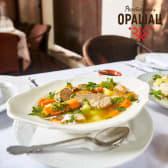 Junetina u supi sa povrćem i renom