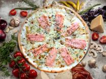 Піца з Лососем (33см)