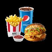 Комбо з даблшефбургером