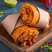 ღორის ბურიტო / Pork Burrito