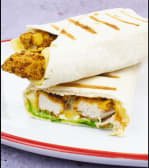 Crispy chicken strips sandwich