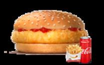 საბავშვო ქათმის ბურგერის მენიუ/Kids Chicken Menu