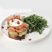 Salmon Tartine (Gluten Free)