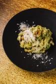Тальятеле з лососем і шпинатом (370г)
