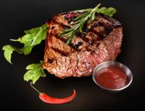 Стейк з яловичини (180/40/40г)
