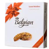 Belgian chocolate Карамельні медальйони з шоколаду (200г)