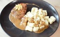 Beefsteak 200g u umaku od tartufa s njokima