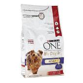 Pienso de croquetas con buey y arroz para perros adultos mini de 1 a 10 kg