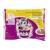 Comida húmeda para gatos Junior selección aves