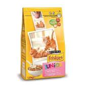 Pienso para gato junior con pollo, leche y verduras