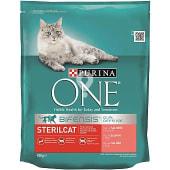 Pienso especial para gatos adultos esterilizados rico en salmón y trigo