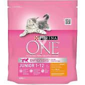 Pienso para gatos Junior Bifensis pollo y cereales integrales