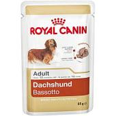 Teckel Dachshund Adult comida húmeda para perros