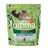 Alimento para gatos adultos de salmón, arroz y cereales integrales