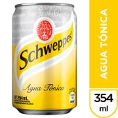 Schweppes Tonica Lata 354Ml