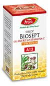 Sirop biosept miere +prop100ml