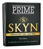 Prime Preservativos Skin - 3 Unidades