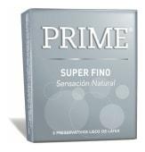 Prime Preservativos Super Fino - 3 Unidades